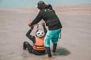 Pilotage du kitesurf