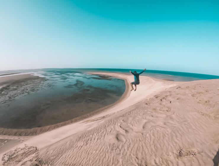 La dune blanche dakhla