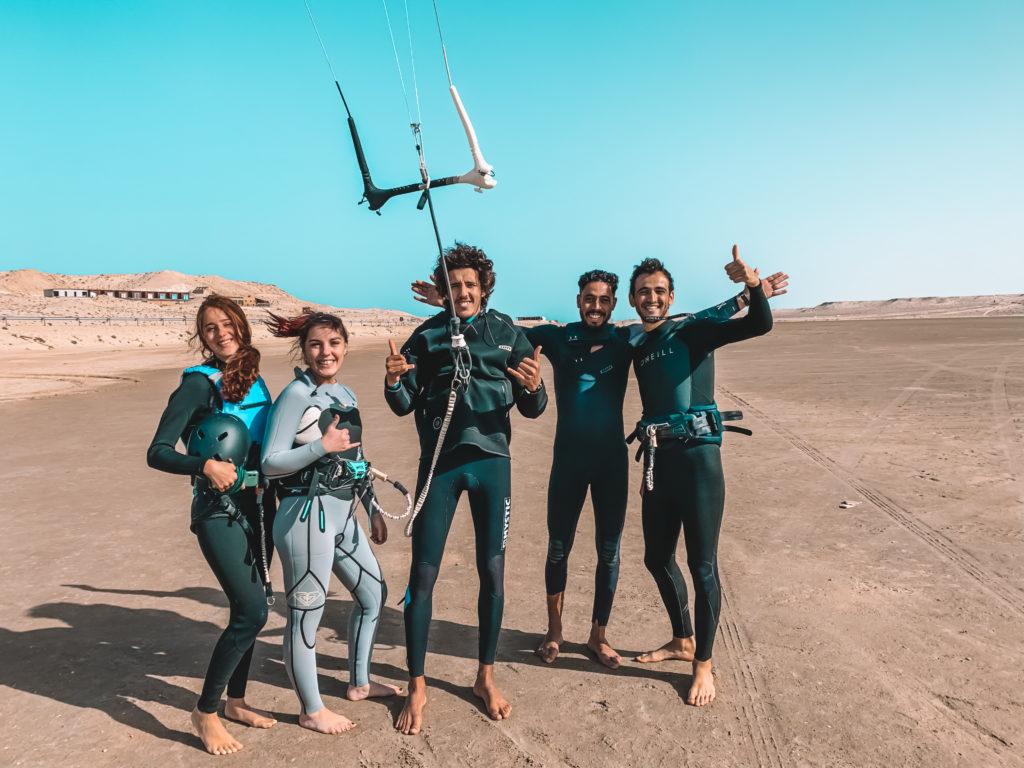 Groupe kitesurf